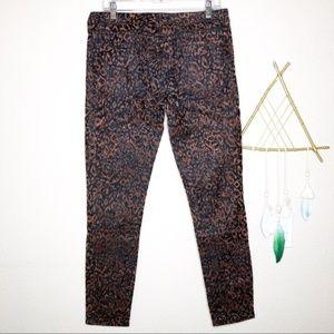 BB Dakota | Leopard Print Khloe Skinny Jeans